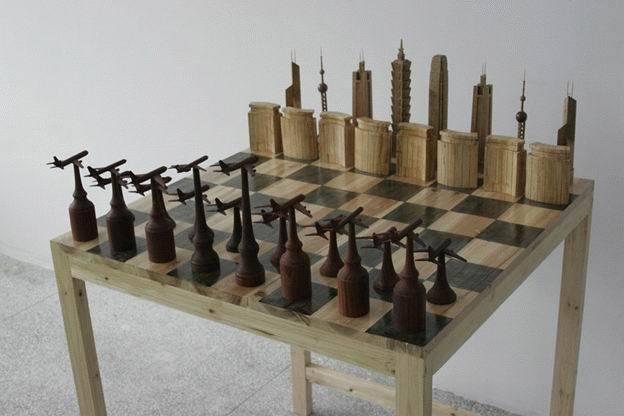 実もふたも無いチェス盤