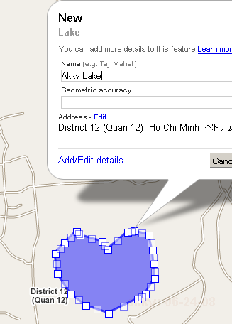 Google Map Makerはみんなで作る集合知地図