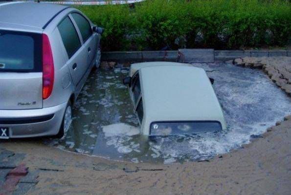 駐車場のことを英語でカープールとも言います