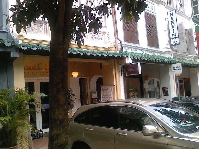 2ちゃんねるのシンガポール新住所の写真