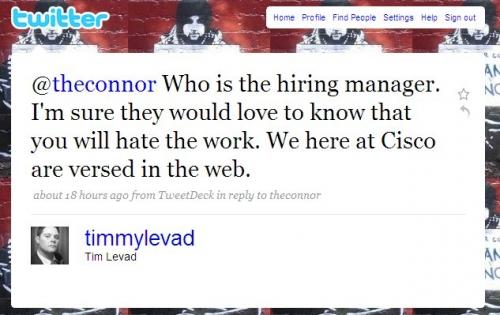 Cisco Fatty騒動/twitterで解雇