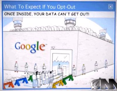 google-opt-out-village-outlook-screenshot