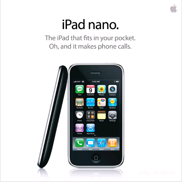 iPadナノ