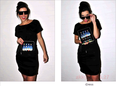 iPadポケットつきドレスiDress