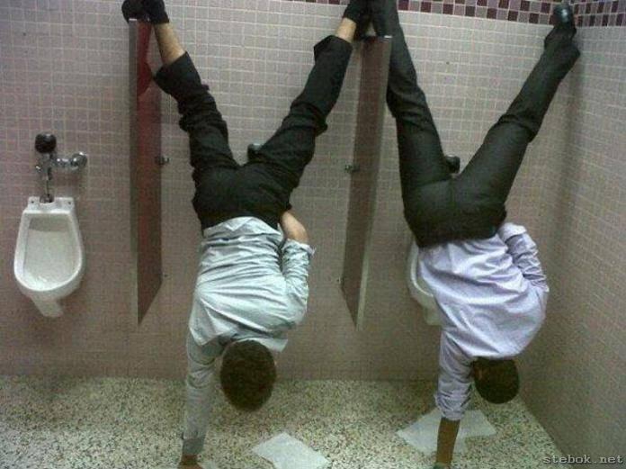 handstand-pee